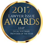 LEAP Awards | Lawyer issue Legal Software Provider of the Year 2017