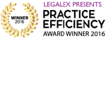 LEAP Awards | Legalex Practice Efficiency Award 2016